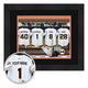 Personalized Locker Room San Francisco Giants, One Size