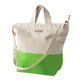 Personalized Kiwi Color Dipped Canvas Tote, One Size