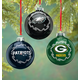 Nfl Glass Ball Ornament, One Size