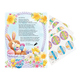 2019 Letter And Sheet Of Stickers Gift From Easter Bunny, One Size