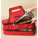 Personalized Double Decker Insulated Food Travel Tote, One Size