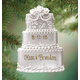 Personalized Wedding Cake Ornament, One Size