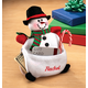 Personalized Snowman Cash Pouch, One Size