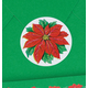 Poinsettia Seals, Set Of 250, One Size