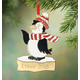 Personalized Penguin Ornament, One Size