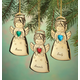 Personalized Angel Christmas Ornament, One Size