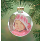 Glass Ball Photo Ornament, One Size