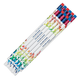 Personalized Butterfly Foil Pencils, Set Of 12, One Size