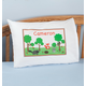 Personalized Woodland Creatures Pillowcase, One Size