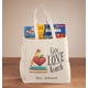 Personalized Live Love Teach Tote, One Size