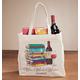 Personalized Wine, Words, Wisdom Book Club Tote, One Size