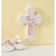 Personalized Bless This Child Ceramic Cross, One Size