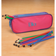 Personalized Slim Pencil Case And Pencil Set, One Size
