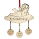Personalized Baby Christmas Ornament, One Size
