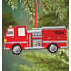 Personalized Fire Truck Ornament, One Size