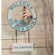 Personalized Welcome Lighthouse Sign, One Size