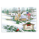 Personalized God Bless America Christmas Card Set Of 20, One Size