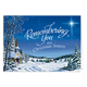 Personalized Remembering You Christmas Card Set Of 20, One Size