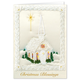 Personalized Satin Chapel Christmas Card Set Of 20, One Size