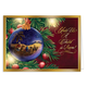 Personalized Nativity Ornament Christmas Card Set Of 20, One Size