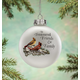 Treasured Friends Glass Ball Ornament By Holiday Peaktm, One Size