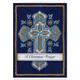 Personalized Cross Stitch Cross W/Bookmark Card Set/20, One Size