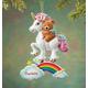 Personalized Teddy Bear & Unicorn Ornament, One Size