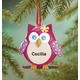 Personalized Sweet Owl Ornament, One Size