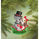 Personalized Puppy Couple Ornament, One Size