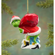 Personalized Grinch Ornament No Personalization, One Size