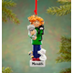 Personalized Crazy Cat Person Ornament, One Size