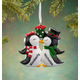 Personalized Kissing Penguins Ornament, One Size
