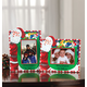 Personalized Santa's Christmas Bag Of Presents Frame Custom Message Landscape, One Size