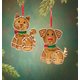 Personalized Pet Gingerbread Ornament Personalized Dog, One Size