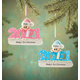 Personalized 2021 Baby's First Christmas Ornament, One Size