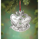 Personalized Silver-Tone Our First Christmas Ornament, One Size