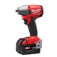 Milwaukee 2654-22 M18 FUEL 18V Cordless Lithium-Ion 3/8 in. Impact Wrench with Friction Ring and XC Batteries