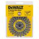Dewalt DW4930 4 in. x 0.020 in. Carbon Steel Wire Wheel