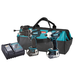 Makita LXT238X1 LXT 18V Cordless Lithium-Ion 1/2 in. Hammer Drill and Impact Driver Hybrid Combo Kit
