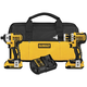 Dewalt DCK286D2 20V MAX XR Lithium-Ion Brushless Compact Hammer Drill & Impact Driver Combo Kit
