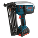 Factory Reconditioned Bosch FNH180K-16-RT 18V Cordless Lithium-Ion 16-Gauge 2-1/2 in. Angled Finish Nailer Kit