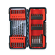 Bosch T4031 31-Piece Impact Screwdriving and Black Oxide Drill Bit Set
