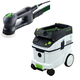 Festool P36571823 Rotex 3-1/2 in. Multi-Mode Sander with CT 36 E 9.5 Gallon HEPA Dust Extractor