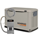 Generac 6237 Guardian Series 8 kW Air-Cooled Standby Generator with Steel Enclosure with 10 Circuit LC (CARB)