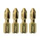 Makita B-34942 4-Piece Impact Gold #2 Phillips Insert Bit