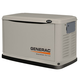 Generac 6245 Guardian Series 8 kW Air-Cooled Standby Generator with Steel Enclosure (CARB)