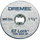 Dremel 456-01 1-1/2 in. Fiberglass Reinforced Cut-Off Wheels (10-Pack)