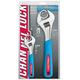 Channellock WS-2CB 2-Piece Adjustable Chrome Wrench Set