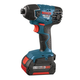 Bosch 25618-01 18V Cordless Lithium-Ion 1/4 in. Impact Driver with FatPack Batteries