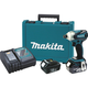 Makita XDT01 18V LXT 3.0 Ah Cordless Lithium-Ion 1/4 in. Hex 3-Speed Brushless Impact Driver Kit